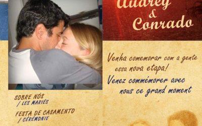 Casamento Audrey e Conrado